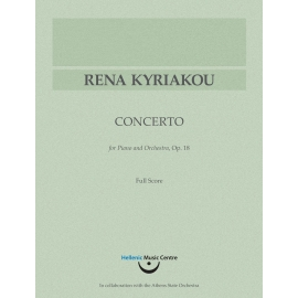 Kyriakou: Concerto for Piano and Orchestra, op. 18