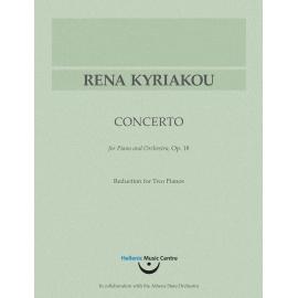 Κυριακού: Κοντσέρτο για πιάνο και ορχήστρα, έργο 18