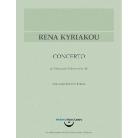 Kyriakou: Concerto for Piano and Orchestra, opus 18