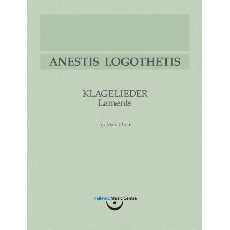 Λογοθέτης: Klagelieder [Μοιρολόγια]