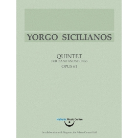 Sicilianos: Quintet for piano and strings, Op. 61