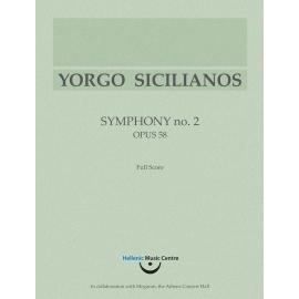Sicilianos: Symphony no. 2, Op. 58