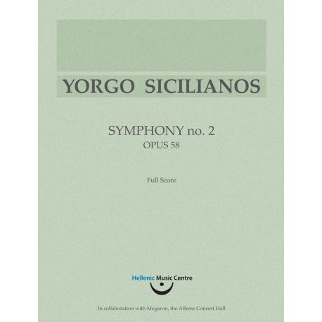 Symphony no. 2, Op. 58 (1997)