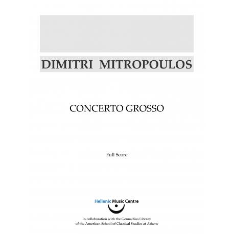 Mitropoulos: Concerto grosso