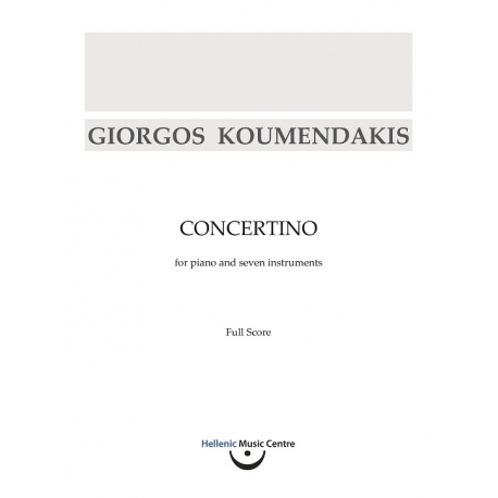 Koumendakis: Concertino for piano and seven instruments