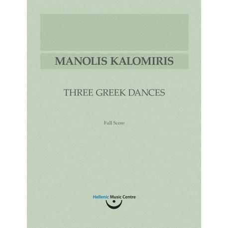 Kalomiris: Three Greek Dances