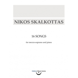 Skalkottas: 16 Songs for mezzo-soprano and piano