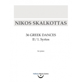 Skalkottas: Syrtos for piano
